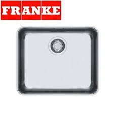 FRANKE ATON ANX 110-48 1.0 Bowl Undermount Kitchen Sink Stainless Steel NEW