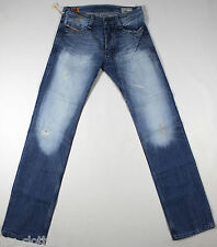 Diesel timmen 8MY Jeans 30X34 100% Auténtico Regular Fit Straight Leg