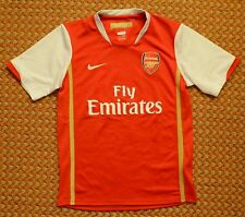 2006 - 2008 Arsenal, Home Shirt by Nike, Boys Large 152-158, Age 12/13