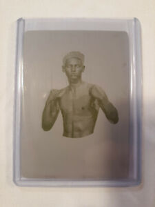 2019 UPPER DECK GOODWIN CHAMPIONS RYAN GARCIA GOUDEY PRESS PRINTING PLATE 1/1
