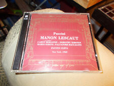 PUCCINI MANON LESCAUT CD
