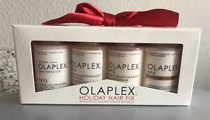 Olaplex Holiday Hair Fix Kit No 3 4 5 6 Shampoo Hair Perfector Bond Smoother NIB