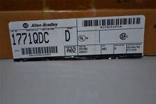 ONE NEW ALLEN BRADLEY PLC 5 1771-QDC /B  PLASTIC MOLDING MODULE + 1771-WF