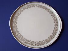 Suisse Langenthal Lg Porcelain Cake Plate Platter Switzerland 72 Block Vintage