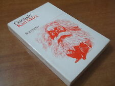 Roger Garaudy KARL MARX Edizione Sonzogno 1974