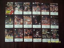 1988 ESTRELLAS de La NBA Juego Infantil JORDAN Johnson BIRD Jabbar MALONE Ewing+