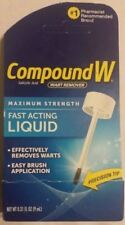 COMPOUND W MAXIMUM STRENGTH FAST ACTING LIQUID WART REMOVER .31 OZ