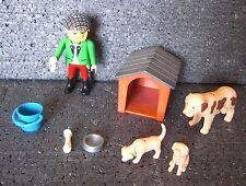 PLAYMOBIL 3005 SET CON CANI DOG