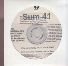 sum 41 cd promo