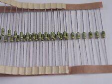 50 Piezas De Condensadores de Cerámica Axial (como resistencias de color codificado) CR25 56pF SB4