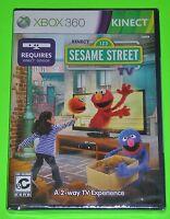 Kinect Sesame Street TV: Season 1 (Microsoft Xbox 360, 2012) NEW