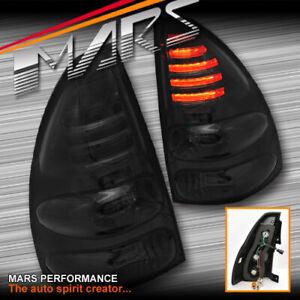 Smoked Black LED Tail Lights for TOYOTA LAND-CRUISER FJ120 PRADO 2003-2009
