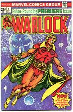 WARLOCK #9, VF+, Power of, Jim Starlin, Thanos cameo, 1972, Bronze age