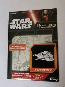 Star Wars Metal Earth Snowspeeder model kit