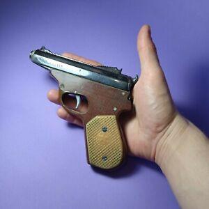 Vintage gun/pistol Petrol lighter handmade by prisoners-RARE!