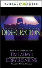 Desecration Audiobook 2 Cassette Tape abridged By Tim Lahaye Left Behind