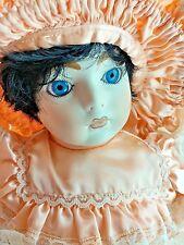 """Francine Cee Vintage 1991 LE 500 Reproduction Sarah BIG 22"""" FULL Porcelain Doll"""