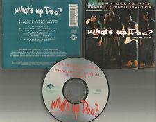 FU SCHNICKENS w/ SHAQUILLE O'NEAL 6TRX REMIXES & INSTRUMENTAL 6TRX USA CD single
