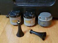 Western Electric 597 Tweeter Horn Pair Reproduction Altec Loud Speaker Driver