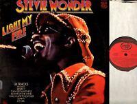 STEVIE WONDER light my fire LP EX/EX MFP 50420 soul funk motown 1979