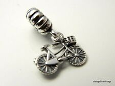 NEW/TAGS  AUTHENTIC PANDORA SILVER CHARM  BICYCLE DANGLE #791266  RETIRED