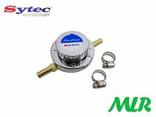 SYTEC PRO-FLOW 6MM 1-5PSI FUEL PRESSURE REGULATOR FOR FACET CARB FUEL PUMPS AYJ