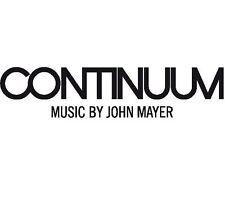 John Mayer Continuum 180gm LP Vinyl 33rpm