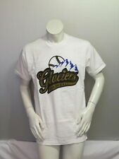 Vintage Minor League Baseball Shirt - Surrey Glaciers - Script Logo - Men's L
