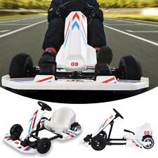 Electric Go Karting Car for Kids Adults Drift Go Kart & Hover Balancing Scooter❥