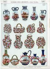 PorzellanPorcellan-China-Vasen-Katalog Lithogr. 1890