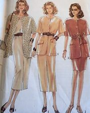 NEW & VINTAGE 'NEW LOOK' SAFARI STYLE SEPARATES SEWING PATTERN 6065 SIZES 8-18