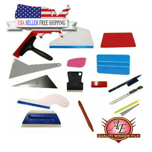 15pc kit: Window Film Tinting Tools, Auto Vinyl Wrap Installation Kit