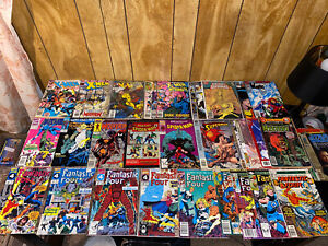 Lot of 31 Mixed Marvel, DC Comics!