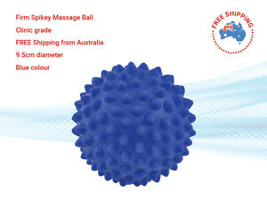 Firm Spikey Therapy Ball 9.5 cm.Blue Shipped from AUS