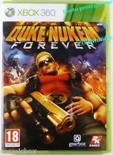 DUKE NUKEN FOREVER jeu video pour console X-BOX 360 Microsoft complet testé tbe