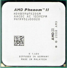 AMD Phenom II X2 B59 3.4 GHz HDXB59WFK2DGM 533 MHz CPU Processor AM3