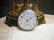 Antique Swiss pocket watch Hy Moser & Cie Le Couture movement wolf teeth