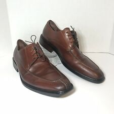 High End  Men's Cole Haan Brown Leather Lace-Up Split Toe Oxford Shoe Sz 10.5