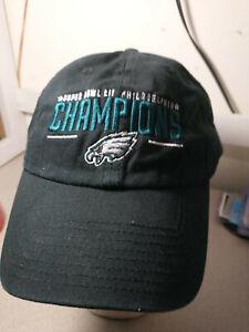 VTG Super Bowl LII Philadelphia Eagles Ball Cap/Hat By '47Grand