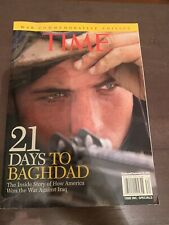 Time's 21 Days to Baghdad by the Editors of Time (Paperback, 2003) - Iraq War