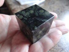 KAMBABA JASPER Stone Gemstone Crystal Cube (1) Wiccan Metaphysical Reiki Chakra