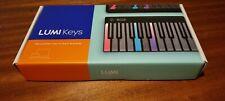 Roli Lumi keys midi keyboard brand new unregistered with black snap case