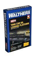 Walthers Cornerstone Series Kit HO Scale Oil Loading Platform