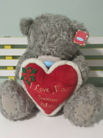 BLUE NOSE BEAR ME TO YOU CARTE BLANCHE 42CM TALL 40CM WIDE TEDDY BEAR