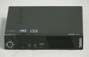 Lenovo ThinkCentre M53 Pentium J2900 2.4 GHz Tiny Desktop 8GB 120GB SSD Win10