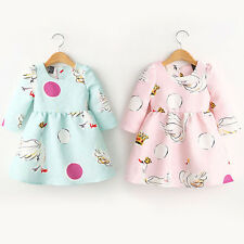 Baby Toddler Long Sleeve Girls Skirt Infant Tutu Dresses Girls Clothing Dress