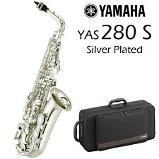 Yamaha YAS-280S Alto Saxophone | Silver plated | 2018 Model | Free Shipping