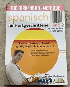 Birkenbihl Sprachkurs Spanisch Fortgeschrittene 1 und 2 NEU OVP