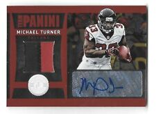 MICHAEL TURNER 2012 Totally Certified Team Panini 2 color jersey auto /5