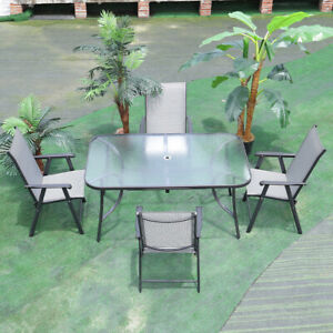 Outdoor Garden Furniture Conservatory Set 4 6 Seaters Table Chair Armchair Patio